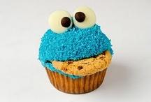 El monstruo de las galletas / Cooki monster,adorable.Me encanta...