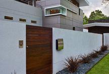 Modern garden gates