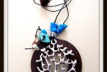 inspired by Charlotte / my bits and pieces of jewellery, felt, wool and clay creations for sale
