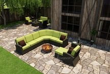 Outdoor Patio Wicker Furniture / We offer an unmatched selection of fantastic all weather furniture in many styles and designs. Choose from seating and dining sets and more from our great selection here: http://www.americanrattan.com/rattan-outdoor.html