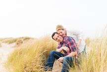 "Engagement shoots in Norfolk / Fun photographs of couples ""in love"" in Norwich and Norfolk taken from pre-wedding or engagement portrait sessions/shoots."