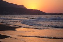 Sunset in Crete / Enjoy a relax stay at Elounda Gulf Villas & Suites and admire the sublime sunset of Crete...Join us! http://goo.gl/Lc4poF