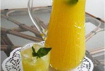 reçel ve limonata