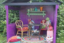 домики для детей на улице