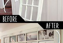 DIY picture frame idea