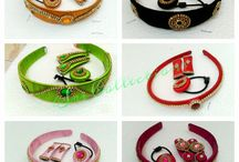 Silk clips and bands