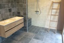Bathrooms / Bathrooms i designed, pictures from our showrooms in Wolvega or Leeuwarden and pictures i like or wich inspire me