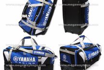 Motor Cycle Bike Trolley Luggage Racing Gear Wheels Yamaha AXO MegawayBags