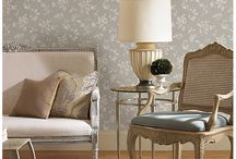 Silken Classic Wallpaper / The Silken Classic wall paper collection from Brewster Wallpaper - Order in store now!