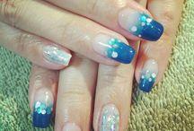 My nails / 自分が手がけたネイルです(^^♪