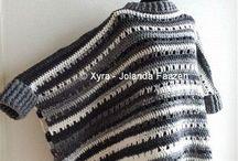 Ubranka na drutach i szydełku