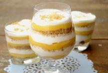 Poharas desszert