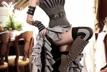 Steampunk Dress-Up Ideas / What to wear at the Valentines Steampunk Swing Party.