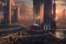 futuristic rendering