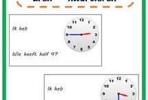 • Groep 4: klokken