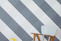 stripes / Decor such as furniture, textiles, lamps, wallpaper, stickers, bedlinen, cushions, rugs..(you name it!) with STRIPES for a kidsroom aswell as toys with stripes for a kids playroom