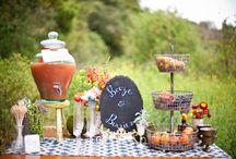 Wedding Food/Drink Displays / by Nicole Saunders