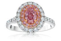 Fancy Color Diamond Rings / Fancy Color Diamond Rings by Leeza Braun