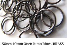 Head/ Eye Pin, Jump Ring