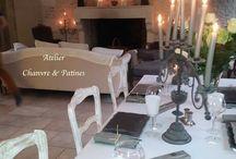 Tables de fêtes  / romantiques et élégantes