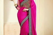 Indian Designer Sarees Online, Designer Saree Shopping / Huge Collection of latest designer sarees available with daindiashop.com. Buy Shop online for a variety of designer sarees at wide range only at daindiashop.