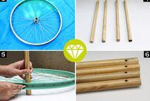 mobilier inedit din materiale reciclabile.