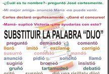 Lengua / ELE - Vocabulario, léxico
