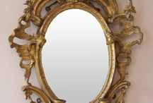 mirrors / Gilded mirrors restored by Ruth Tappin