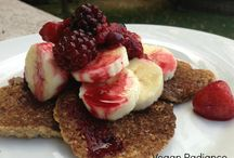 Breakfast / Nutritarian/Vegan Pancakes, Breakfast Pudding, Yummy oats n more!... / by Vegan Radiance
