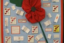 Remembrance day classroom displays