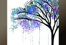 Teikning/måling 1-3 klasse / Teikning, måling, farge, linjer. KH for småskulen