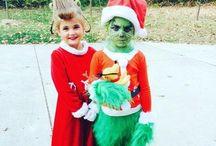 DIY Grinch Cindy Lou Christmas Costume Idea / DIY Grinch Cindy Lou Christmas Costume Idea
