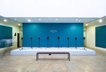 Exhibition Design / Ausstellungsdesign, Raumkonzepte, Katalog