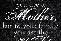 Mother Quotes / Famous and funny being a single mom quotes and sayings. The best new Mother Quotes to Son and to Daughter for Birthdays and from the Bible. - http://www.goodmorningquote.com/best-mother-quotes/