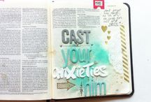 1 & 2 Peter--Bible Journaling by Book / Bible Journaling examples from the books of 1 & 2 Peter