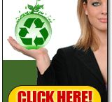 Recycling Website Banners / A selection of website banners for you to use to link to our website at http://www.recyclingfactsguide.com . Spread the word about recycling and it's environmental impact.