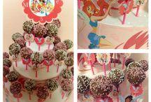 pops cake / cake made with cake pops