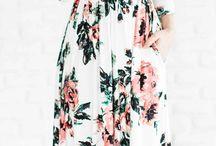 Referensi Dress Flower print