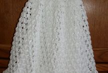 crochet christening gowns