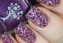 Nail Stamping (my manis) / All of my mani designs using the nail stamping method