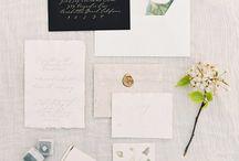 Whimsical & Botanical wedding inspiration