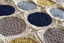 Squares / My favorite ideas for knitted and crochet squares