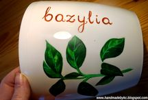 Ręcznie malowane - doniczki / www.namalowane.pl