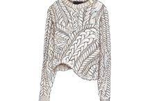 Knit illustration