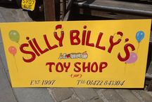 Photos and Images of Silly Billy's / Photos and Images of the Toy Shop in various ways, in and around Hebden Bridge