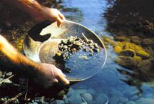 GOLD PANNING ETC / by Andrea Hyland