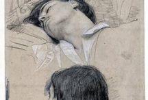 Art - drawings, sketches