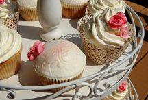 Wedding cupcakes, pastelove / cupcakes, wedding, bride, ślubne muffiny, torciki, ciasteczka. Pastelowe cupcaki