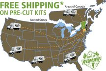 Mud Season Savings. JCS /  Offer ends May 1st, 2017 at 8pm Eastern Standard Time. Jamaica Cottage Shop ships Kits *Free in the continental US + eastern Canada. Fully Assembled in the northeast. Toll free in house staff 1.866.297.3760 M-F 8-5, Sat 9-4 + Sunday by chance or appointment. May 1st 8am-8pm.  Or email design@jamaicacottageshop.com   https://s3.amazonaws.com/jamaicacottageshop.com/uploads/JCSsale.pdf http://jamaicacottageshop.com/free-shipping/