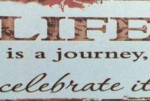 Elämä on ihanaa...kun sen oikein oivaltaa.